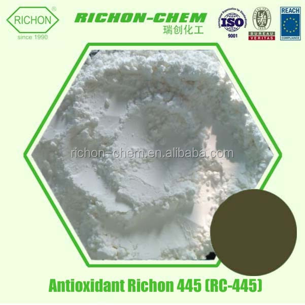 Additives for ABS Hot New Products for 2016 Chemical Auxiliary Agent C30H31N 10081-67-1 Antioxidant 445 or RC-445