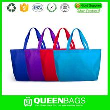 Custom hot selling candy colour grocery bag with low price manufacturer