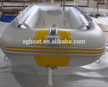 CE certificated popular Aluminium hull rigid inflatable boat with PVC/Hypalon tube