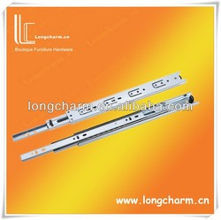35mm full extension slide/3 folds ball bearing drawer slides