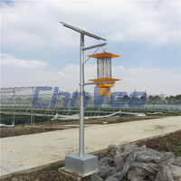 Solar Powered Pest Killer uv lamp insect killer farmland solar mosquito killer From jiaxing zhejiang
