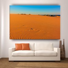 House decorative wall hanging picture wooden frame outdoor desert landscape painting