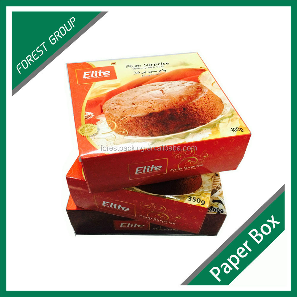 paper board box & paper rigid box & 300 gsm paper box packaging / hard paper gift box /paper moon cake box,