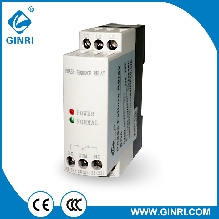 JVRD6 Phase Reversal and Phase Failure Relays