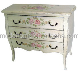 Shabby Chic Wooden Makeup Drawers