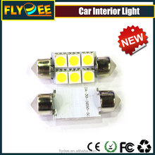 Festoon light 39mm 6smd 5050 car interior light reading bulb 5w 0.15A with 60000hrs lifespan in Flydee Company