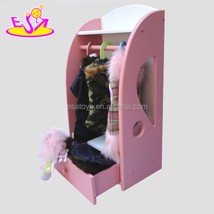 Pet Furniture Dog Closet and Wardrobe With Storage Drawers,Hot Selling Pet Clothes Closet With Storage Drawer W06F010A