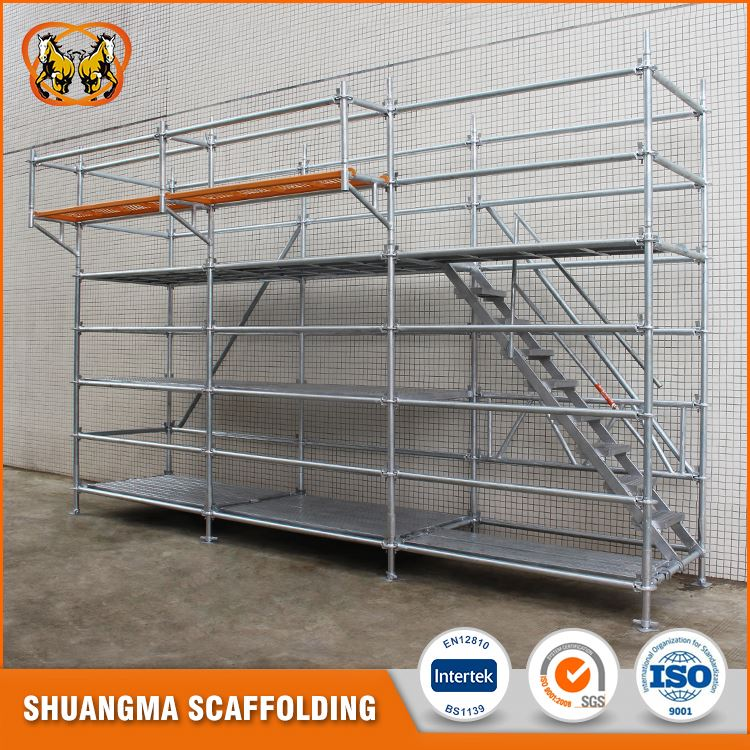 China manufacturer hdg steel multi directional scaffolding