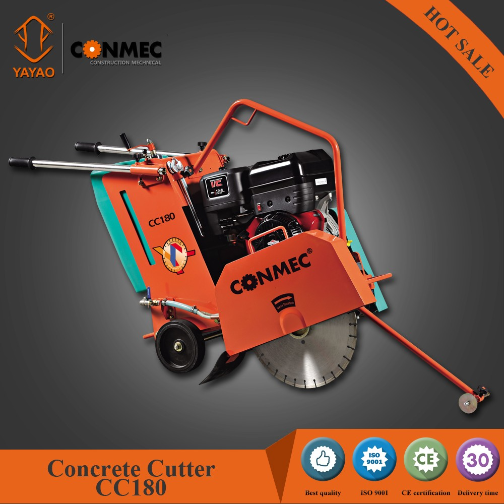 HOT PRICE! HIGH EFFICIENT MIKASA TYPE GASOLINE CONCRETE CUTTING SAW CC180 WITH HONDA ENGINE