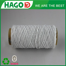 Russian bleach white oe recycle blend textile new material made in china weaving cheap low twist hottest cotton yarn supplier