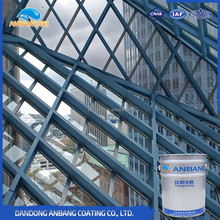 AB325 topcoat epoxy anti rust coating for indoor steel structure