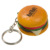New Product PU Foam Fruit Oem Keychain apple PU Stress reliever ball Slow rising squishy