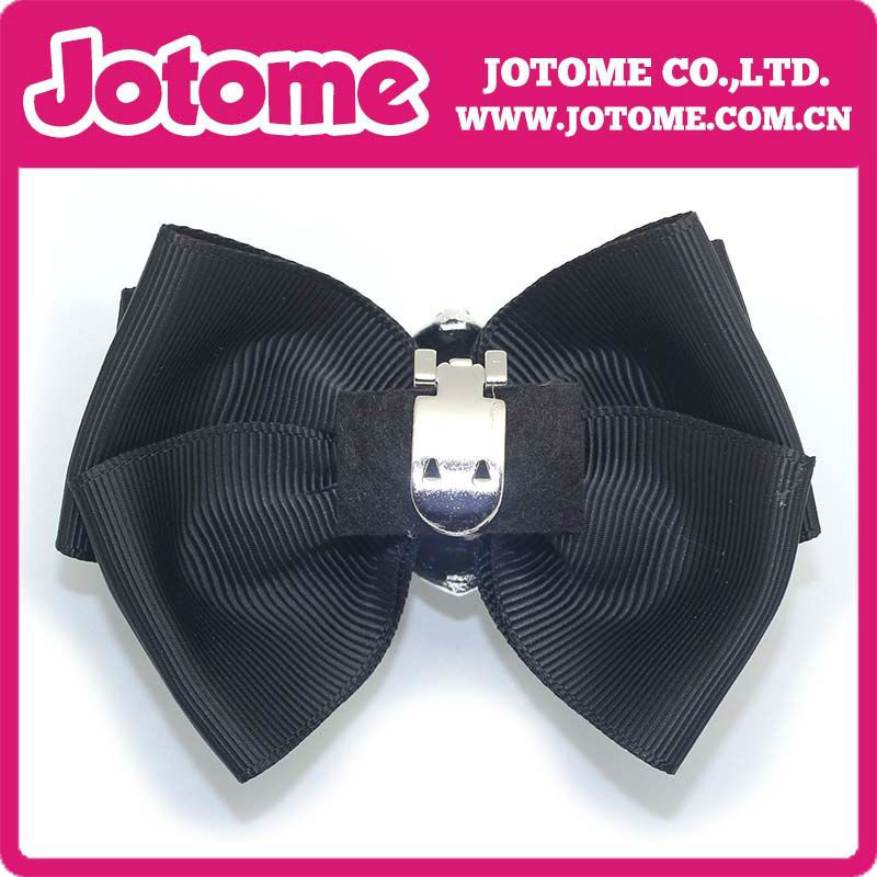 Fashion Black Bow Shoe Flower Buckle For Grils&Woman