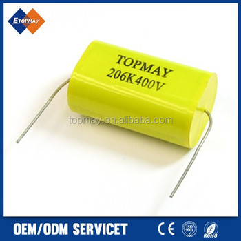 Axial Metalized Polypropylene Film Capacitor MPT MPA