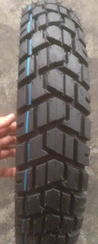 tubeless motorcycle tire 300-17with off-road pattern