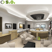 USA STYLE Original design high quality for sure customized showroom jewelry store furniture