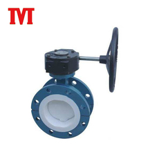 handle type hand lever hydraulic actuator operated wcb butterfly valve