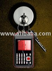Keychain (key chain) Triband (tri-band) Bluetooth Camera Mobile Phone