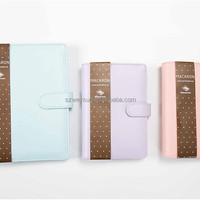 Macaron Leather Spiral Notebook Original Office