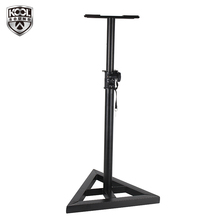 Cheap Price HSS-07 metal black speaker adjustable surround professional box monitor stand