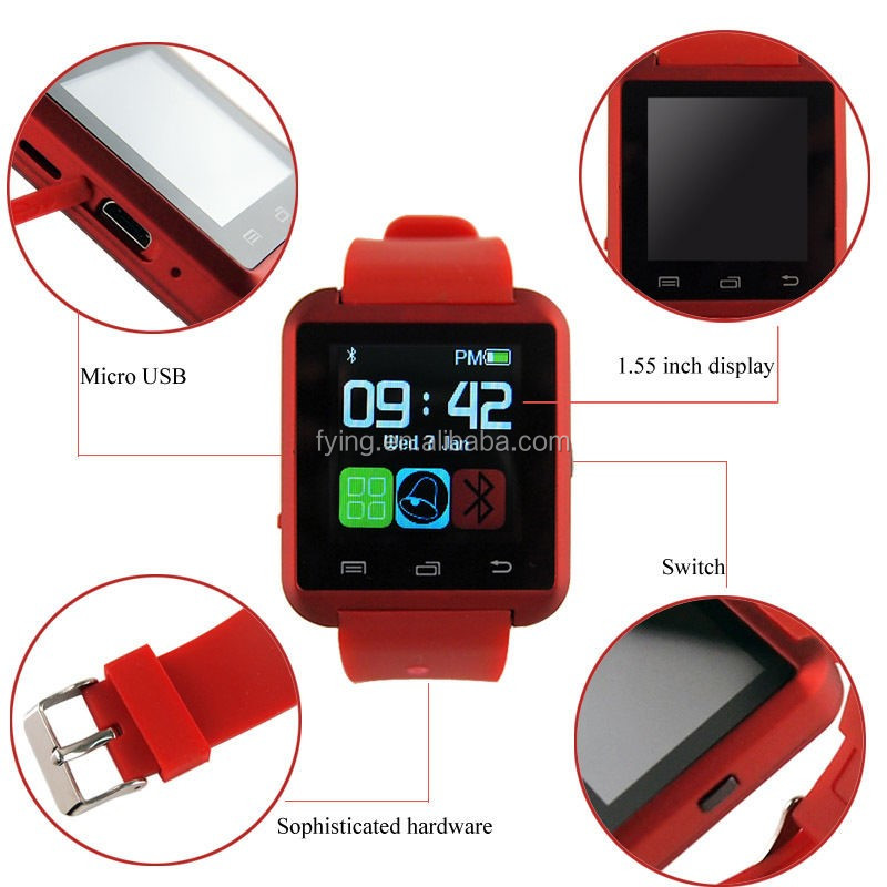android smart watch Cheapest price of U8 bluetooth watch for Christmas gift