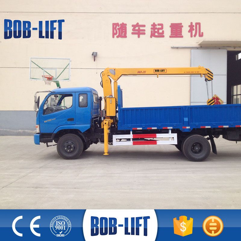 Telescopic boom mini truck mounted crane manufacturer