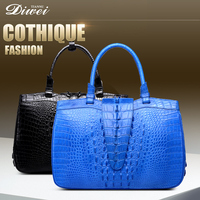 2016 Factory Price High-end Quality Crocodile Handbag for ladies