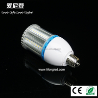 High power 100W E40/E27 samsungSMD5630 120*334mm Aluminum LED Corn light warm white