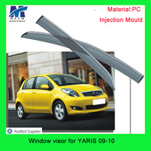 For YARIS 09-10 buy car from china Injection mold 12 months warranty window visor