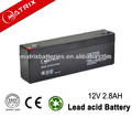 Emergency power supply VRLA battery 12v 2.8ah