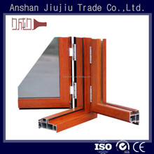 High-grade extruted aluminum door frames with different kinds of surface treatment
