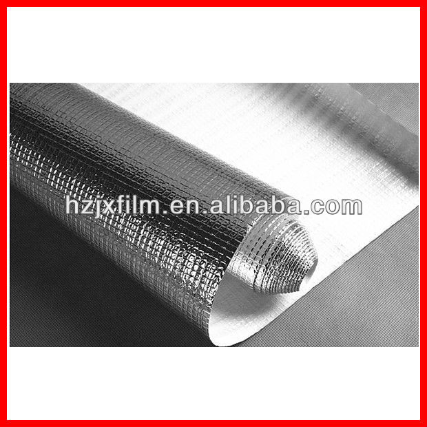 12 microns alu. PET film for insulation materials