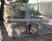 Portable Chain Link Kennels/Kennel - chain link panel/dog cage