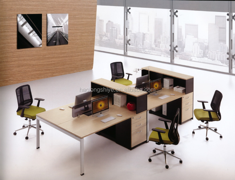 Two Person Office Layout Modern Design Office Desk Two Person Computer  Table Buy