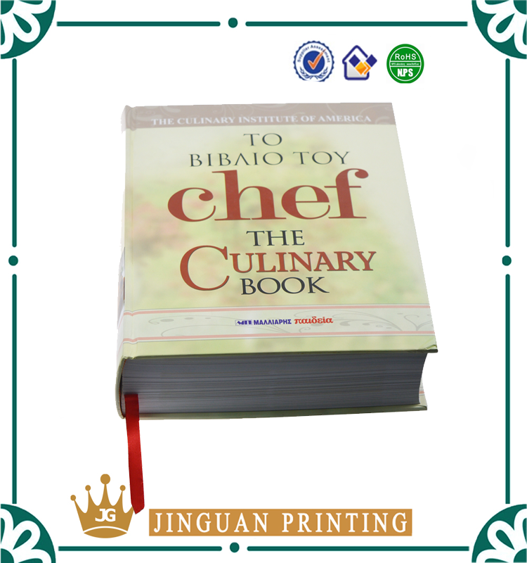 Soft Cover/Hardcover Cheap Perfect Printing Cooking Book Wholesales