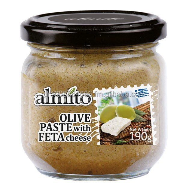 Olive Paste with Feta Cheese