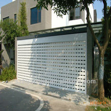 Good quality high speed electric aluminum roller garage door