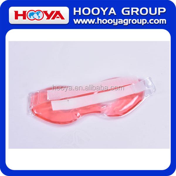 Hot / Cold Therapeutic reusable PVC sleeping cool gel eye mask for Summer Promotions