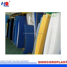 impact resistance and retardant building material corrugated plastic sheets