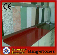 kitchen countertop one piece bathroom sink and countertop dayang red Marble Countertop