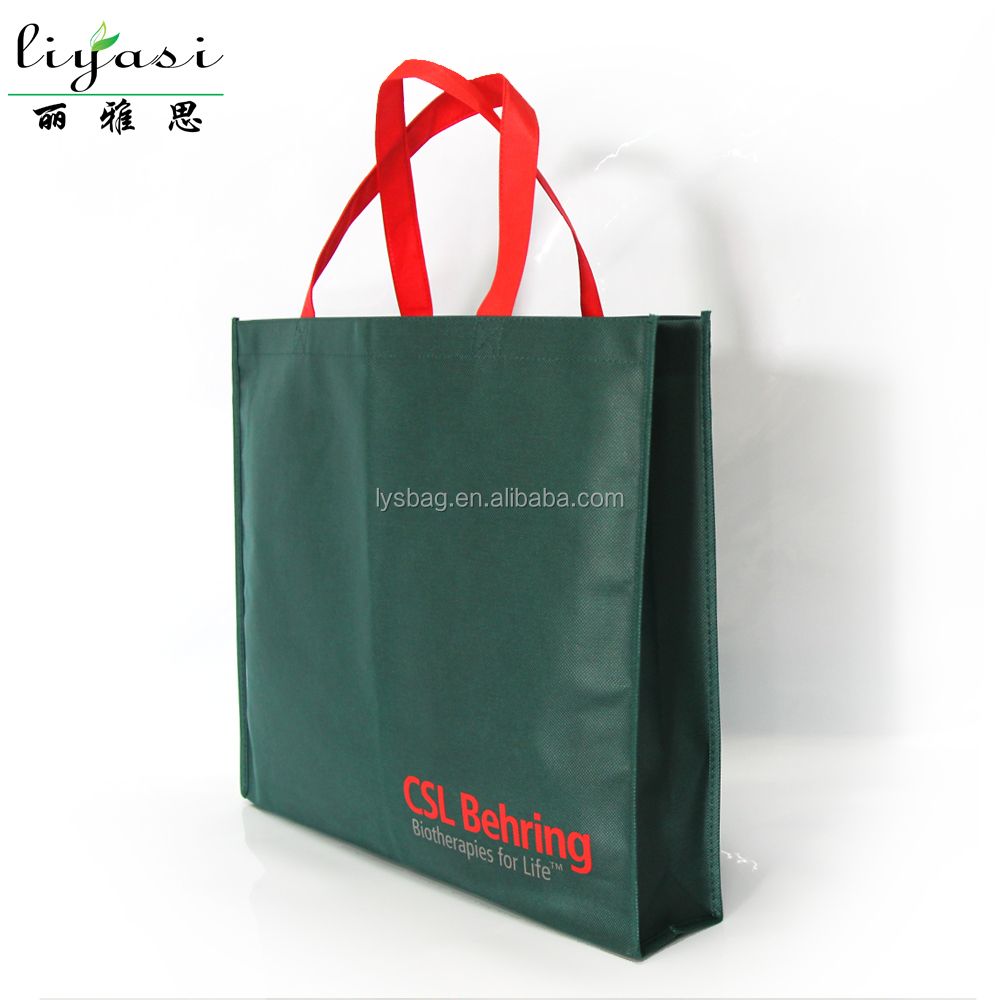 Trade Show Giveaway Non-woven Bag, Factory Direct Sale Custome Design Tote Bag