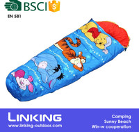 Protable Cartoon Kid Sleeping Bag