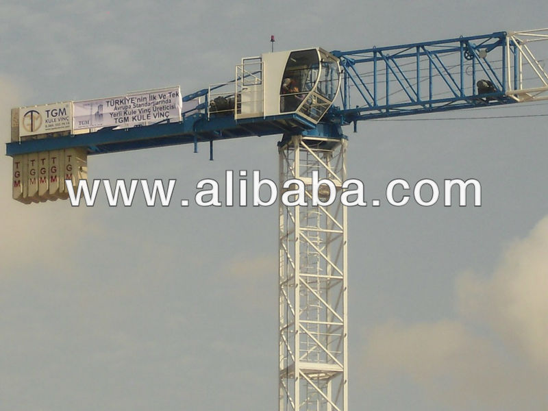 Tower Cranes with Hydraulic from Turkey Manufacturer