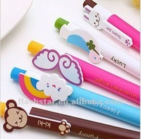 2013 new promotional animal plastic ball point pen