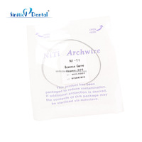 Dental unit sale orthodontic niti reverse vurve arch wire from china