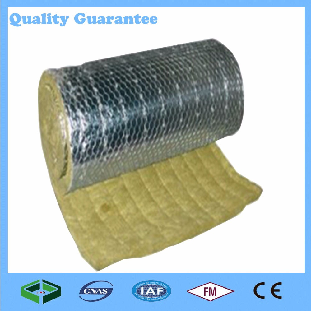 2017 china aluminum foil insulation board glass wool board for Rockwool insulation properties