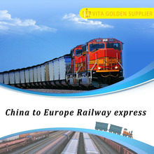 Train transport from Qinzhou Guangxi to Hamburg Germany Europe Railway freight services