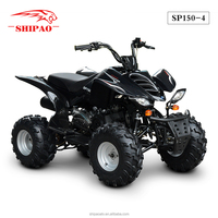 SP150-4 cheap China quad atv 150cc with steel wheel