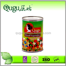 canned food 400g canned mixed vegetables private lables