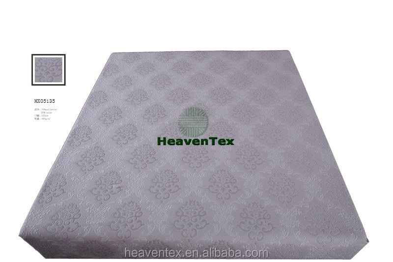 HX05135 70% polyester 30% rayon mattress ticking fabric